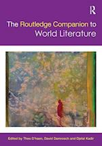 The Routledge Companion to World Literature af Theo D haen, Djelal Kadir, David Damrosch