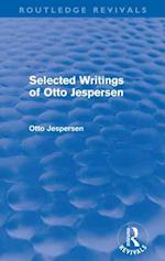 Selected Writings of Otto Jespersen af Otto Jespersen