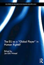The EU as a 'Global Player' in Human Rights (Routledge Research in Human Rights Law)