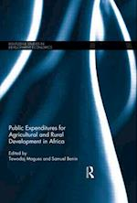 Public Expenditures for Agricultural and Rural Development in Africa (Routledge Studies in Development Economics, nr. 94)