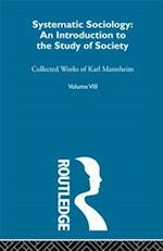 Systematic Sociology af Karl Mannheim