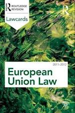 European Union Lawcards 2011-2012 (Lawcards)