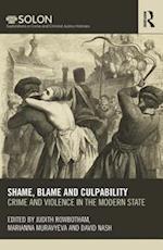 Shame, Blame, and Culpability af David Nash
