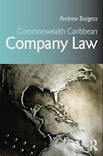 Commonwealth Caribbean Company Law af Andrew Burgess