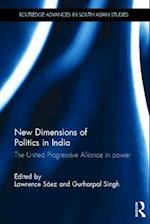 New Dimensions of Politics in India af Lawrence Saez, Gurharpal Singh