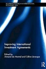 Improving International Investment Agreements (Routledge Research in International Economic Law)