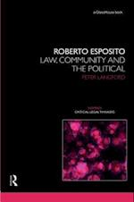 Roberto Esposito (Nomikoi Critical Legal Thinkers)
