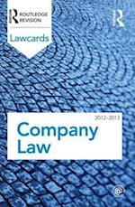Company Lawcards 2012-2013 (Lawcards)