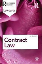 Contract Lawcards 2012-2013 (Lawcards)