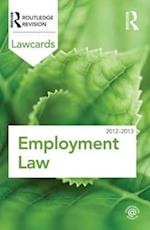 Employment Lawcards 2012-2013 (Lawcards)