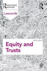 Equity and Trusts Lawcards 2012-2013 (Lawcards)
