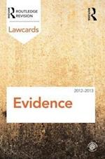 Evidence Lawcards 2012-2013 (Lawcards)
