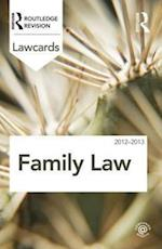 Family Lawcards 2012-2013 (Lawcards)