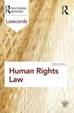 Human Rights Lawcards 2012-2013 (Lawcards)