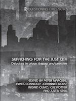 Searching for the Just City (Questioning Cities)