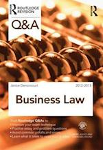 Q&A Business Law: 2012-2013 (Questions and Answers)