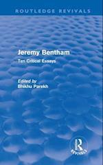 Jeremy Bentham af Bhikhu Parekh