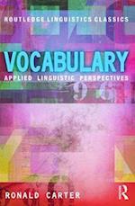 Vocabulary af Ronald Carter