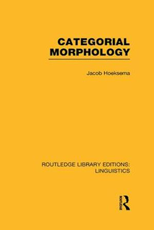 Categorial Morphology