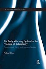 The Early Warning System for the Principle of Subsidiarity af Philipp Kiiver