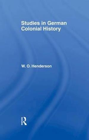Studies in German Colonial History