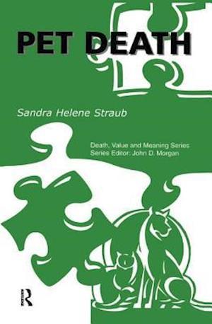 Bog, hardback Pet Death af Sandra Helene Straub