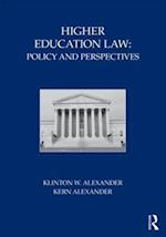 Higher Education Law af Kern Alexander, Klinton W Alexander