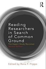 Reading Researchers in Search of Common Ground