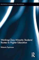 Working-Class Minority Students' Routes to Higher Education (Routledge Research in Education)