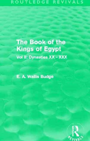The Book of the Kings of Egypt