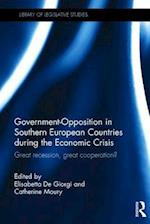 Government-Opposition in Southern European Countries During the Economic Crisis af Elisabetta De Giorgi
