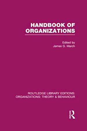 Bog, hardback Handbook of Organizations af James G March