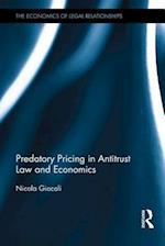 Predatory Pricing in Antitrust Law and Economics (The Economics Of Legal Relationships)