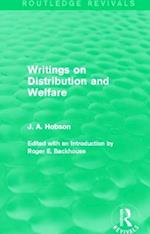Writings on Distribution and Welfare (Routledge Revivals)