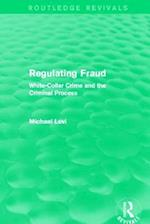 Regulating Fraud af Michael Levi