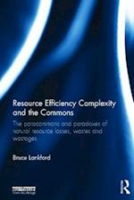 Resource Efficiency Complexity and the Commons