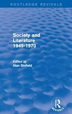 Society and Literature 1945-1970 (Routledge Revivals)