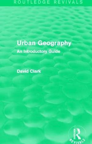 Bog, paperback Urban Geography af David Clark