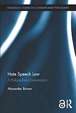 Hate Speech Law af Alex Brown
