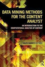 Data Mining Methods for the Content Analyst (Routledge Communication Series)