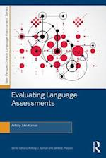 Evaluating Language Assessments (New Perspectives on Language Assessment Series)