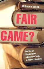 Fair Game? af Rebecca Zwick