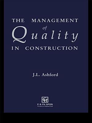 The Management of Quality in Construction