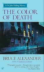 The Color of Death (Sir John Fielding Mysteries Paperback)
