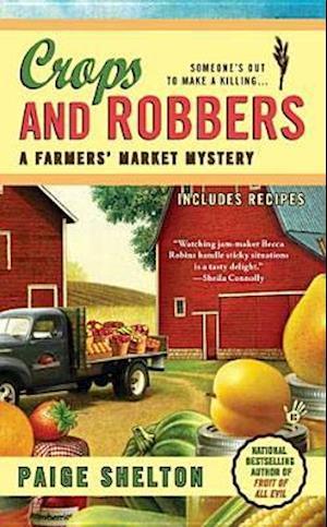 Bog, paperback Crops and Robbers af Paige Shelton