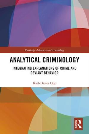 Analytical Criminology