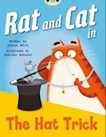 Bug Club Red A (KS1) Rat and Cat in the Hat Trick 6-pack (Bug Club)