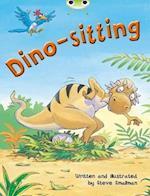 Dino-Sitting af Steve Smallman