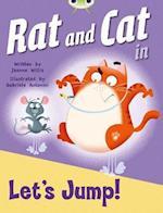 BC Red C (KS1) Rat and Cat in Let's Jump (Bug Club)