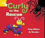 Rigby Star Guided Year 1 Yellow LEvel: Curly to the Rescue Pupil Book (single) af Tony Mitton